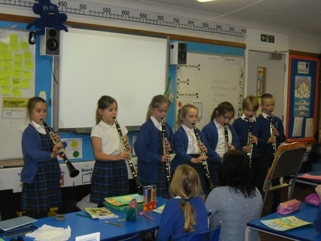 Year 4 Clarinet performance