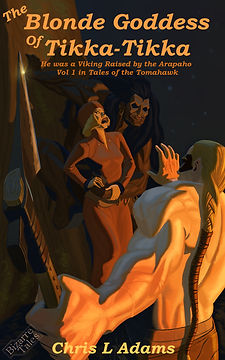 Cover for The Blonde Goddess of Tikka-Tikka