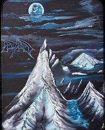 Night-Gaunts over Kadath II by Chris L Adams