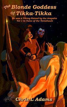 Blonde Goddess of Tikka-Tikka_CoverRedux