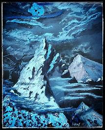 Night-Gaunts over Kadath by Chris L Adams