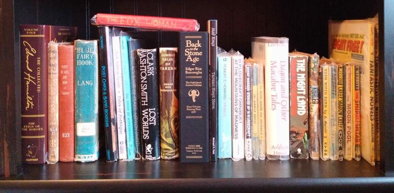 Written Gems bookshelf