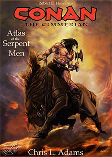 Cover for Atlas of the Serpent Men