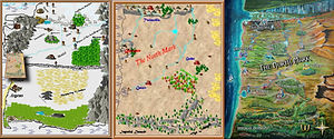 Comparison of original maps to the new North Mark map
