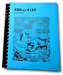 ERB-APA #148, Cover art by  James W. McGurk; Includes Tarzan and the Saboteur by Chris L Adams