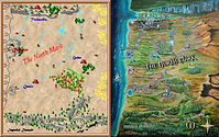 A comparison of Will Hahn's original North Mark map to the newly painted map