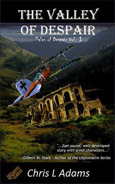 The Valley of Despair cover, featuring the biplane of Erik von Mendelsohn