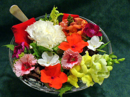 Using flowers in your food