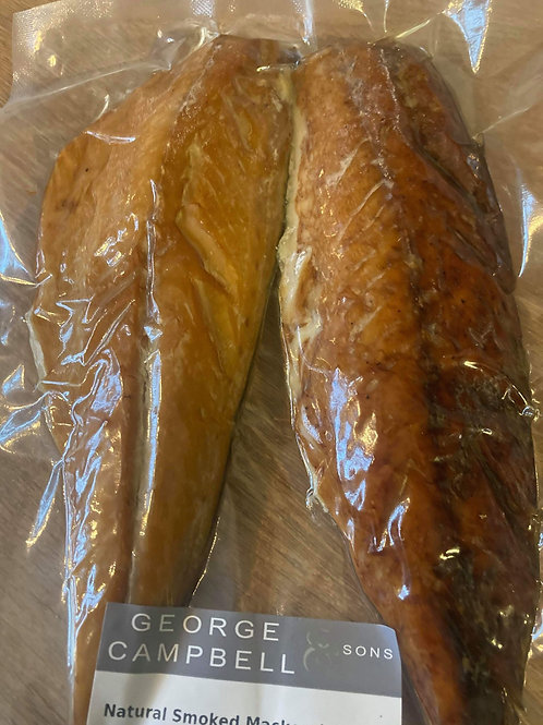 George Campbell Smoked Mackerel - Pack of 2