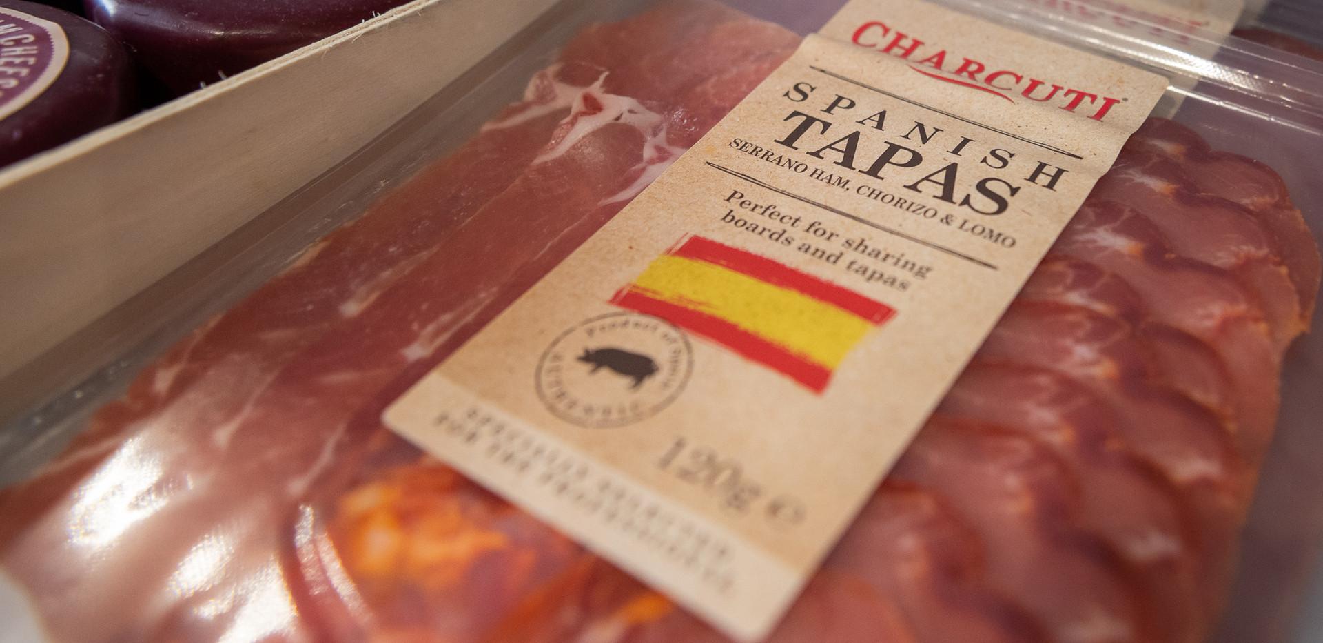 Spanish Tapas Meats