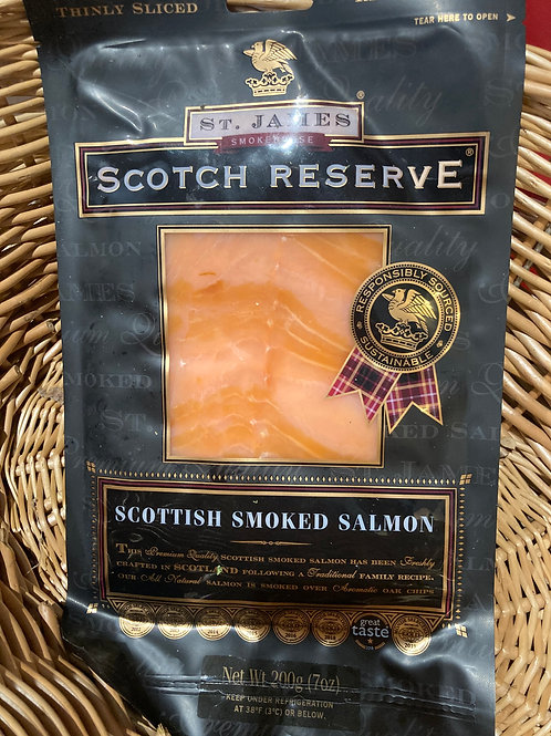 Smoked Sliced Salmon