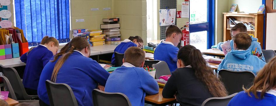 Stirches Primary School classroom