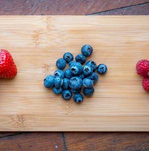 Fresh summer berries