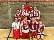 Stirches Primary School netball team