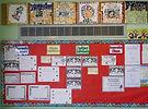 Stirches Primary School notice board
