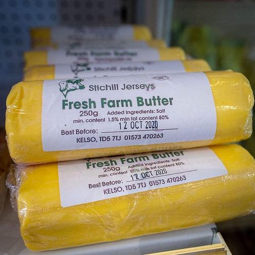 Stichill Jersey's Fresh Farm Butter