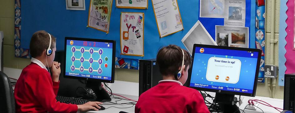 Stirches Primary School computer suite
