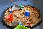 Stirches Primary School nursery sand pit