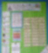 Stirches Primary School literacy board