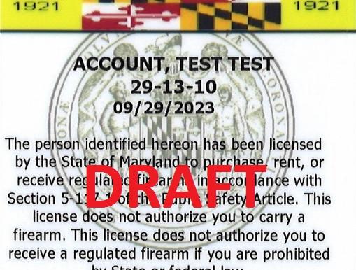 Buying a Handgun in Maryland