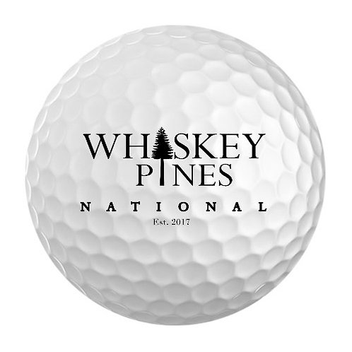 Whiskey Pines National Golf Balls