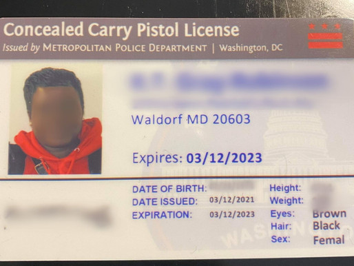 Applying for your D.C. Concealed Carry