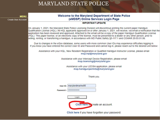 New: Applying for your MD HQL