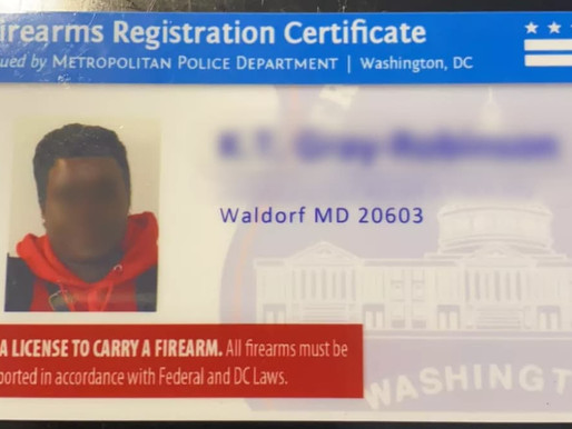 District of Columbia: Eligibility Requirements to Register a Firearm