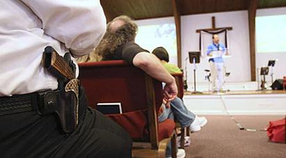 Texas Church Shooting, A good guy with a gun
