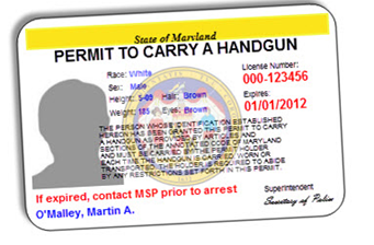 Part 1: Getting a Maryland Permit to Carry