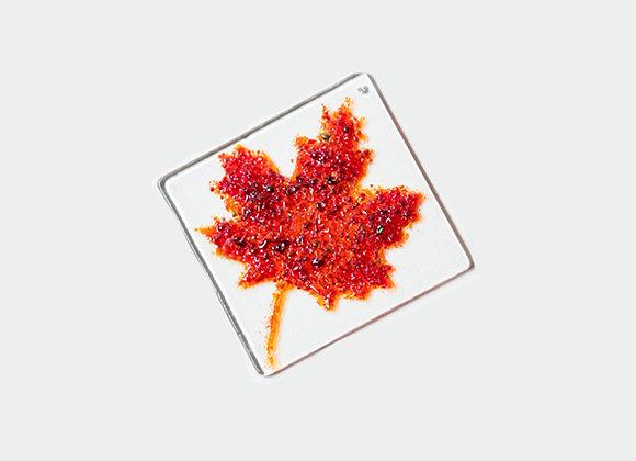 """3"""" Diameter Maple Leaf 4"""