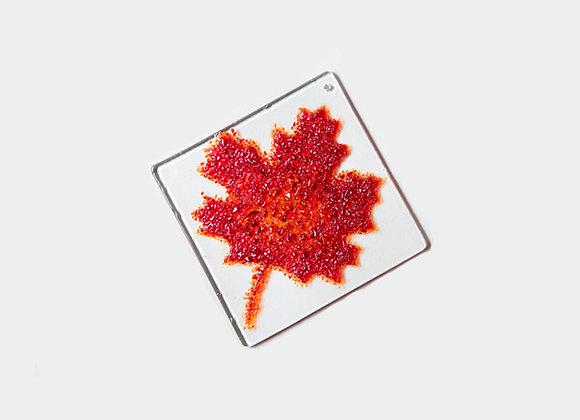 """3"""" Diameter Maple Leaf 1"""