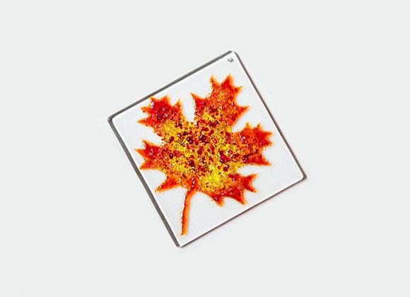 """3"""" Diameter Maple Leaf 5"""