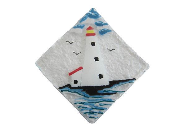 "3"" Diameter Peggy's Cove Lighthouse"