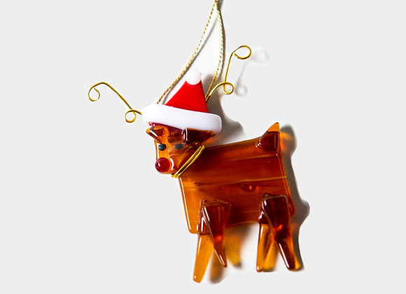 "3""  Rudolph the Red Nosed Reindeer Ornament"