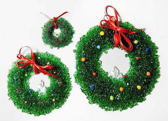 "3"", 6"", 8"" Diameter Christmas Wreaths"