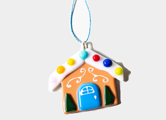 "3""  Ginger Bread House Ornament"