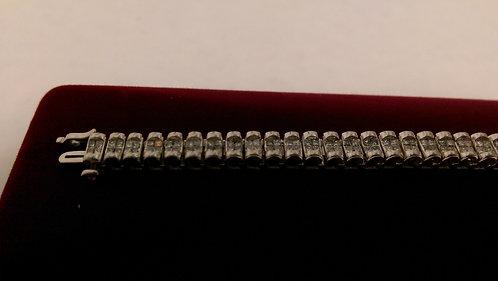 14K 4CTW DIAMOND BRACELET