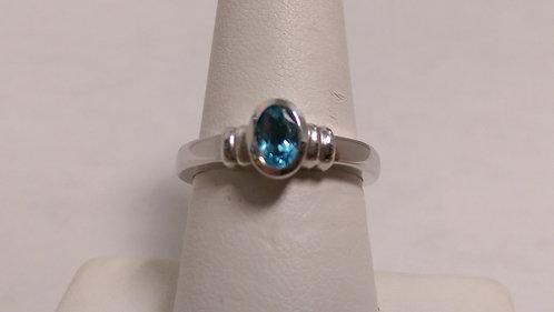 14k Aqua Ring