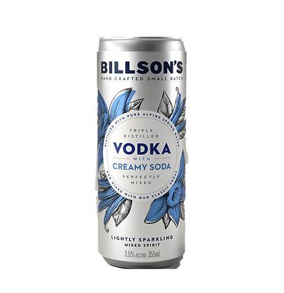 Billsons Vodka & Creamy Soda 355ml x 24
