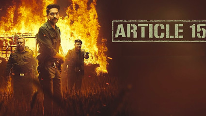 """Article 15: A """"Dalit film"""" in the Dreams of a Brahmin"""