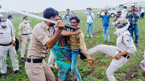 Six cops suspended in the Guna Police assault on Dalit couple
