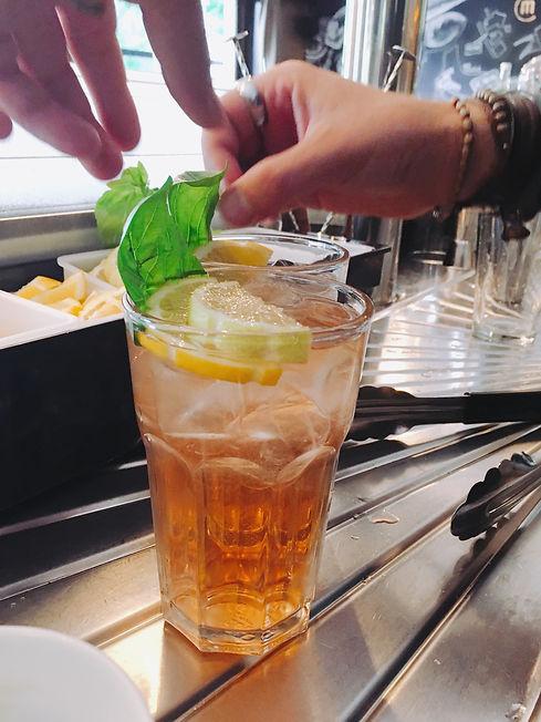Chez Marraine burger bar cocktail
