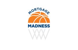 Basketball-themed Mortgage Logo