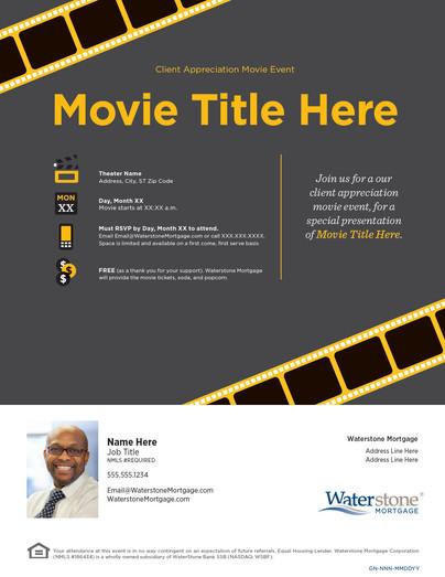 Movie Event Flyer
