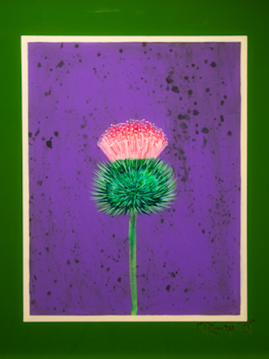 Thistle, Note Card