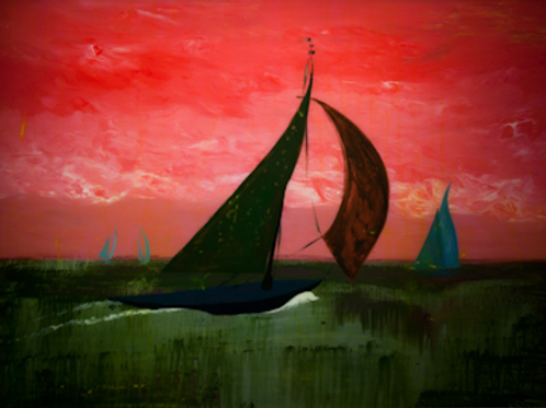 Red Sky, Note Card