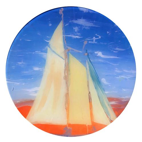 Solar Sail - Round Glass 6 x 6