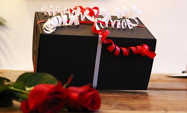 Valentine's present wrapped