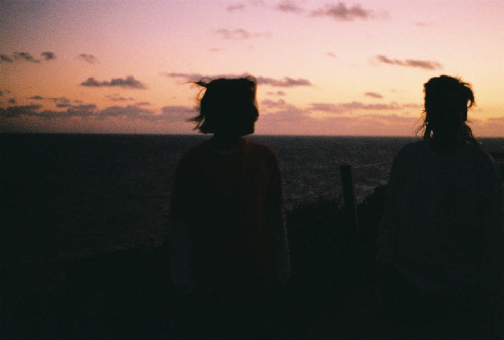 ruby ryan photo photograph photography sunset friends silhouette film 35mm